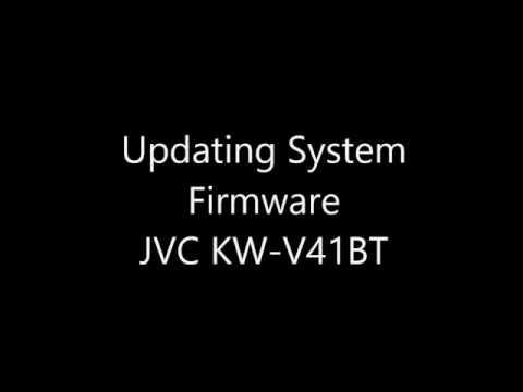 Updating Firmware KW-V41BT - YouTube