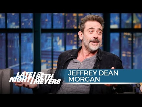 Jeffrey Dean Morgan Talks Joining The Walking Dead - Late Night with Seth Meyers