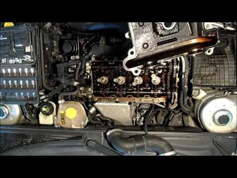 Saab 9-3 Timing chain rattle noise fix!