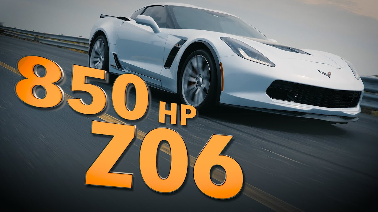 HPE850 Corvette Z06 by Hennessey Performance | Track Testing