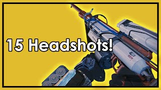 Destiny Taken King: Hereafter Gameplay - 15 Sniper Headshot Kills in 1 Game!