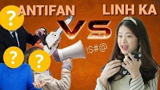 phan ung cua anti fan lan dau gap linh ka  trong trang 77