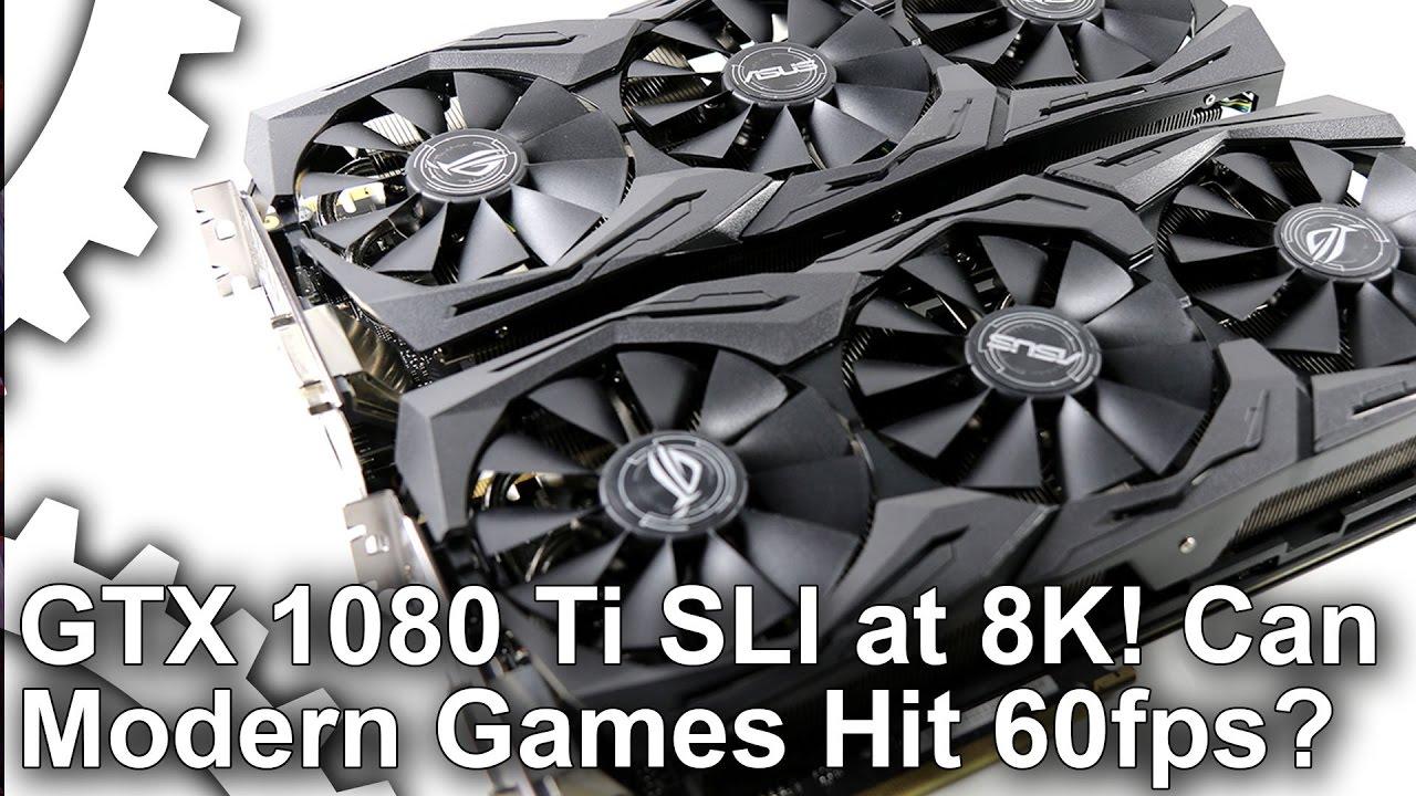 Asus ROG Strix GTX 1080 Ti OC review: top-tier SLI tested
