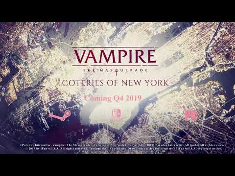 Vampire: The Masquerade - Coteries of New York by Draw Distance
