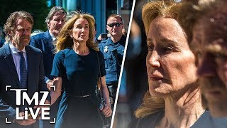 Felicity Huffman Turns Herself In To Prison To Serve College Bribery Sentence  | TMZ Live