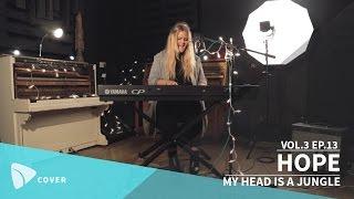HOPE - My Head Is A Jungle (Wankelmut & Emma Louise cover)   TEAfilms Live Sessions Vol.3 Ep.13