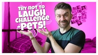 TRY NOT TO LAUGH CHALLENGE! | Pets | Matt Harrop