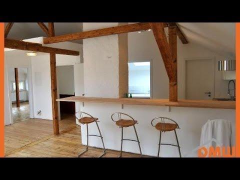 Sanierte und renovierte Dachgeschosswohnung inkl. Küche mit Theke ...