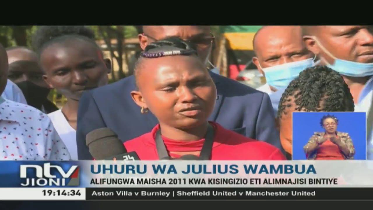 Download Julius Wambua, aliyefungwa kwa madai ya kumnajisi bintiye, aachiliwa huru
