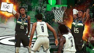 100 Point Wilt Chamberlain Challenge | Revealing Best Animations | NBA 2k20 MyCareer #28