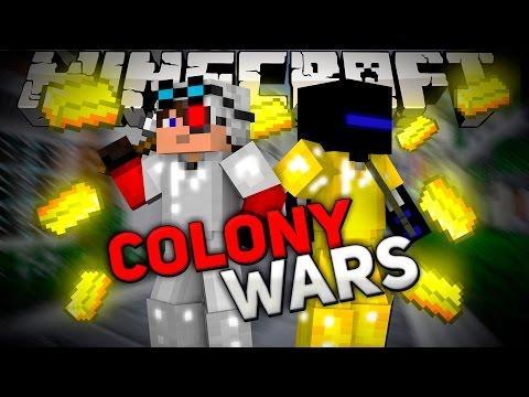 Minecraft Colony Wars: Сумасшедшие шахтеры