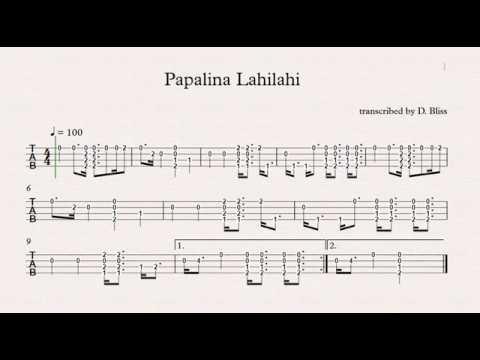 Papalina Lahilahi Ukulele Youtube