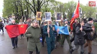 День Победы: марш участников локальных войн (9.05.2017)