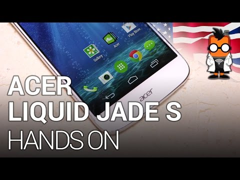 Acer Liquid Jade S hands-on at CES 2015