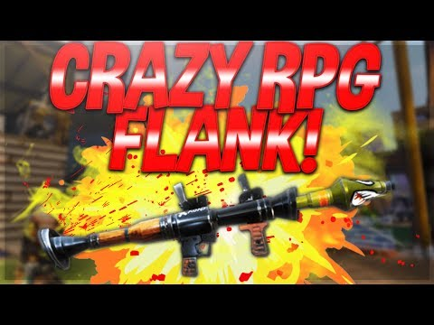 BEST RPG FLANK EVER! Fortnite Battle Royale Squads Gameaplay!