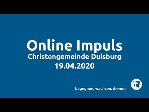 Online-Impuls // Christengemeinde Duisburg // 19.04.2020