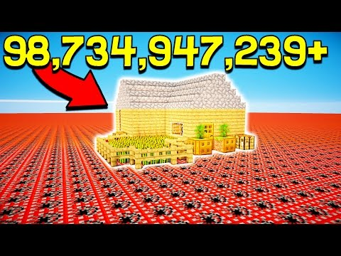 HOW MUCH TNT DOES IT TAKE TO DESTROY THIS!?