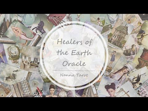 開箱  地球癒者神諭卡 • Healers of the Earth Oracle // Nanna Tarot