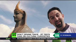 Russian or Egyptian sphinx? RT tests football fans as two countries prepare to clash