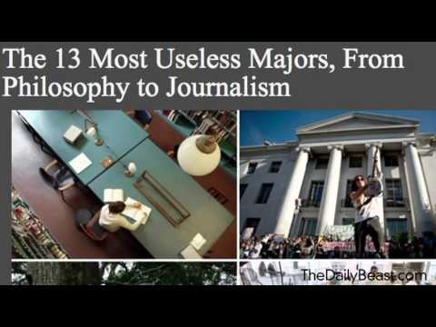 Study Identifies the Most Useless College Degrees VIDEO)