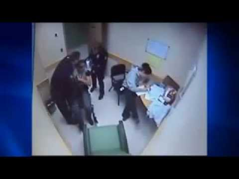 POLICE BEAT UP MAN IN WHEELCHAIR.After Being Insulted.