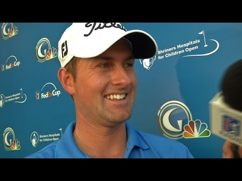 Simpson interview after Round 1 of Shriners Hospitals for Children Open