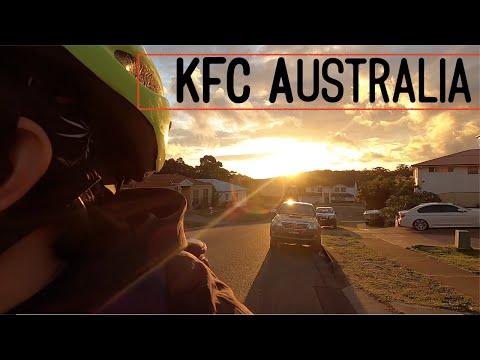 Eating, KFC Australia.