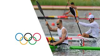Canoe Sprint Kayak Single (K1) 1000m Men Finals - Full Replay | London 2012 Olympics(, 2012-08-08T10:33:38.000Z)