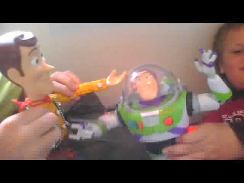 TOY STORY BUZ AND WODDY NORSK TALE