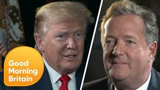 World Exclusive: Trump on Meeting the Royal Family | Good Morning Britain