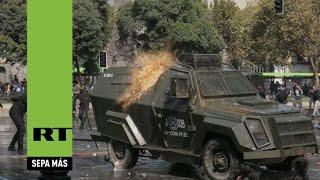 Chile: Violentos enfrentamientos con la Policía tras una protesta por la educación