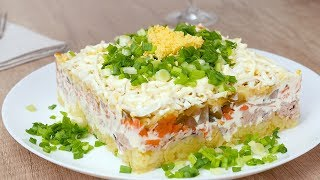 Как приготовить салат с тунцом - Рецепты от Со Вкусом