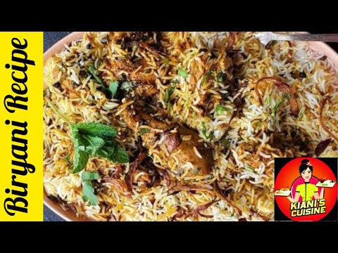 simple-chicken-biryani---best-chicken-biryani-ever---chicken-biryani-recipe-by-kiani's-cuisine