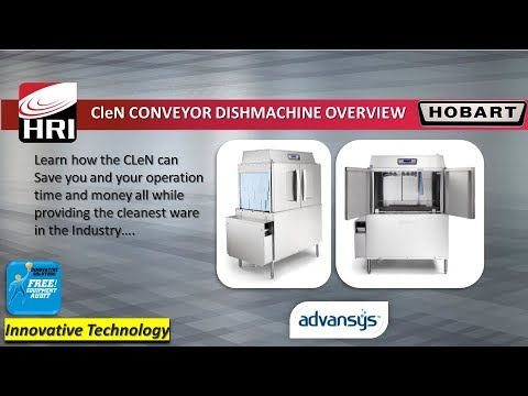 Hobart CLeN Conveyor Dishmachine - Feature Overview
