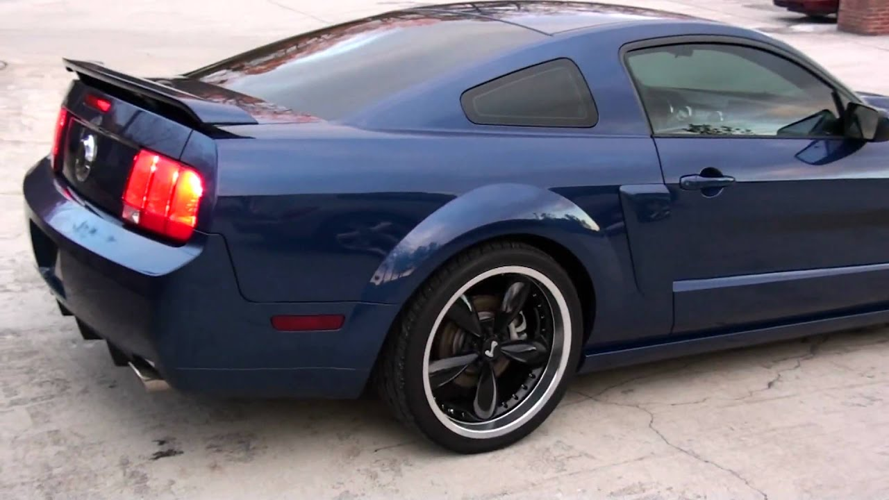 2008 Mustang Gt Cs Sony Hd Bruzer Washed Amp Detailed