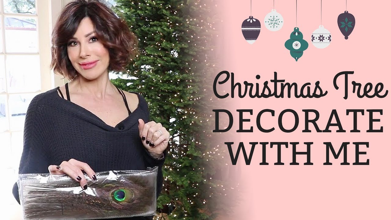 Christmas Tree Decorate With Me Dominique Sachse