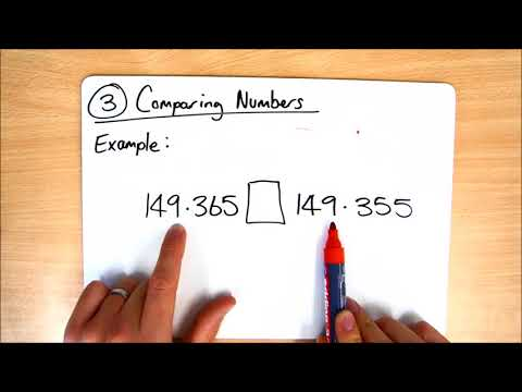 Class 18 - Homework Help - Place Value - Task 3 - Comparing Numbers