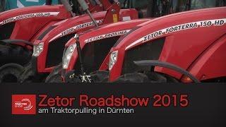 Zetor Roadshow 2015  am Traktorpulling in Dürnten