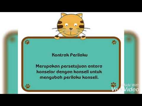 Isna Nurillah P. S. ( 16110047 ) BK 6B - Teknik Kontrak Perilaku