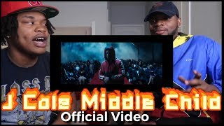 J.Cole - Middle Child (OFFICIAL VIDEO) - REACTION