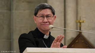 Kard. Luis Antonio Tagle | Rekolekcje dla kapłanów archidiecezji łódzkiej (2)