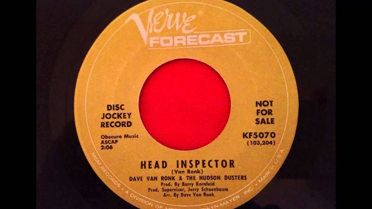 dave van ronk and the hudson dusters head inspector verve dave van ronk and the hudson dusters head inspector verve forecast