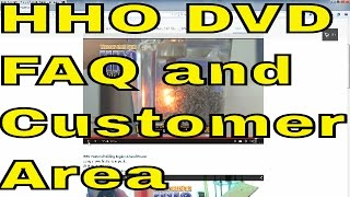 HHO DVD DIY Project HHO DryCell FAQ and Overview