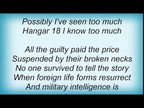 Megadeth - Return To Hangar Lyrics