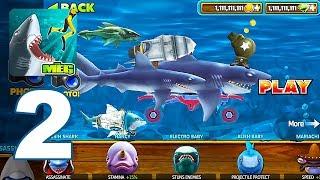 Hungry Shark: Evolution - Gameplay Walkthrough Part 2 - Mako Shark (Android Games)