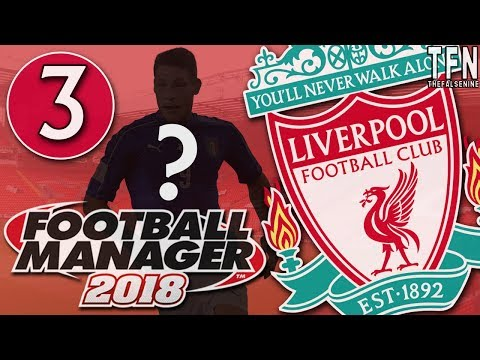 #FM18 Football Manager 2018 / Liverpool / Episode 3: 47 Million Pound Man (vs Stoke & Barcelona)