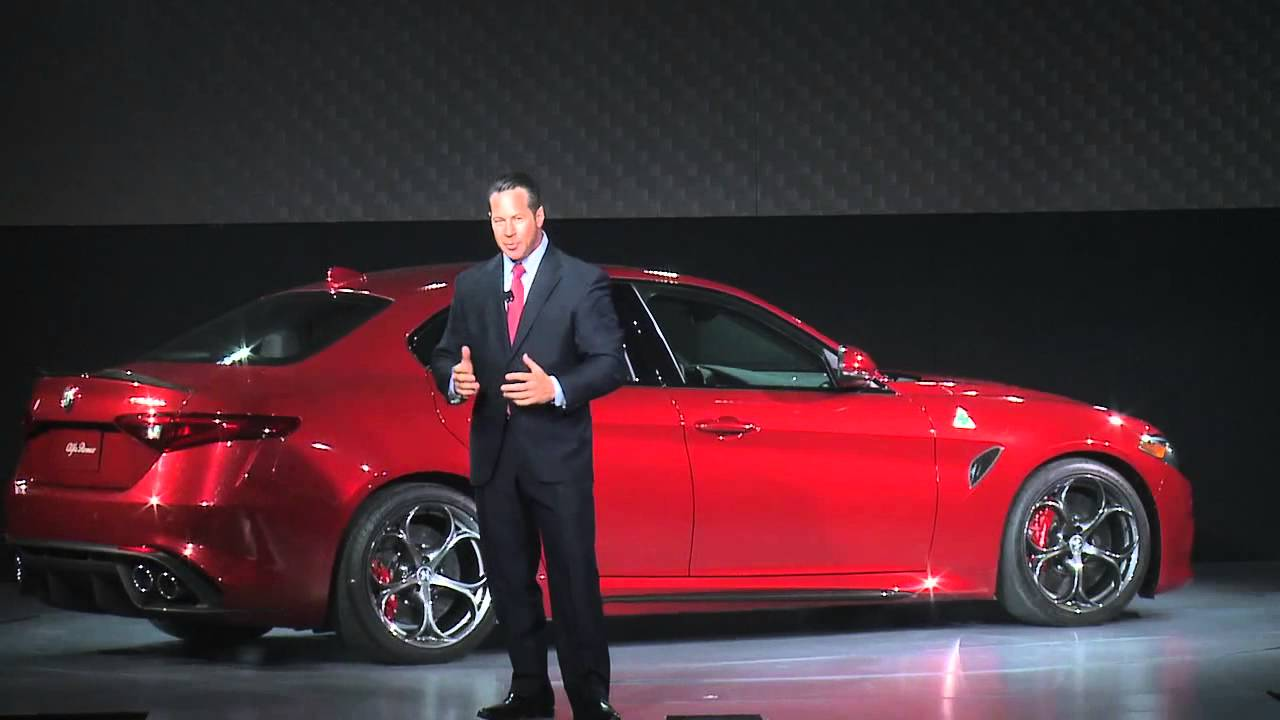 Alfa Romeo Los Angeles >> Alfa Romeo Giulia Unveiling 2015 Los Angeles Auto Show Youtube
