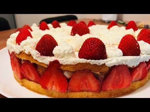 recette-fraisier---recette-facile