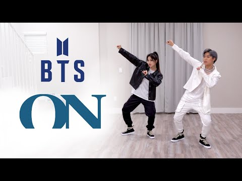 BTS (방탄소년단) - 'ON' Dance Cover | Ellen and Brian