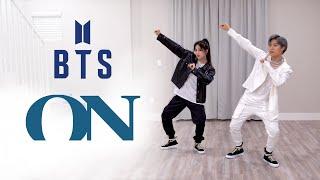 BTS (방탄소년단) - 'ON' Dance Cover   Ellen and Brian